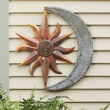 Metal Garden Flowers Outdoor Decor 25 Unique Outdoor Wall Art Ideas On Pinterest Art Deco Wall