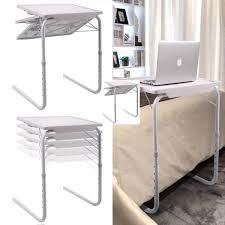 table mate ii folding table asotv smart table mate ii foldable folding adjustable convenient table