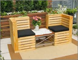 Comfy Patio Chairs Patio Furniture Made Out Of Pallets Home Design Intended For
