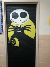 Classroom Door Decoration For Christmas by 40 Creepy Nightmare Before Christmas Decorations Christmas