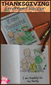 Thanksgiving Stories For Kindergarten Best 20 Thanksgiving Emergent Reader Free Ideas On Pinterest