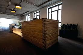 Diy Reception Desk Reclaimed Wood Reception Desk Stunning Sierra Club Headquarters