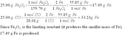 stoichiometry mass mass mass volume volume volume limiting