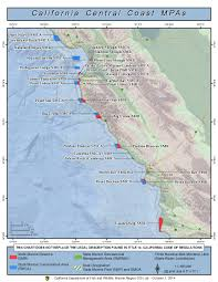 Map Of The Coast Of California Mpa Outreach Materials