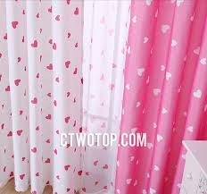 White And Pink Nursery Curtains And Pink Patterned Dreamy Princess Nursery Curtains