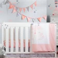 rabbit crib bedding south shore dreamit doudou the rabbit 4 crib bedding set
