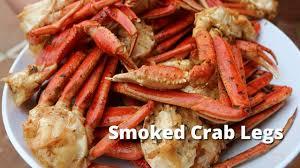 smoked crab legs recipe how to smoke snow crab legs on ole