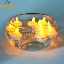 floating led tea lights redcolourful 12pcs floating candle l led tea light candles