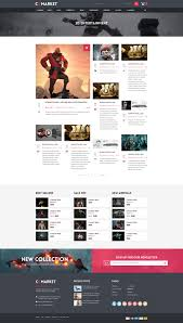 dance cgmarket 3d model marketplace design psd template by tvlgiao