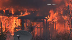 California Wildfires Valley Fire by Wildfires California Governor Declares State Of Emergency