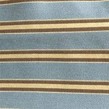 Upholstery Fabric Striped This Fabric Is Blue Brown And Cream Colors The Stripe On This