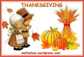 thanksgiving what does it walking with yeshua jesus