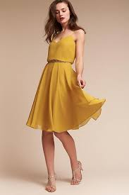 yellow dress anthropologie wedding guest dress products