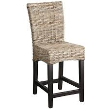 Pier One Chairs Dining Kubu Bar U0026 Counter Stool Rattan Espresso And Stools