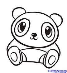download cartoon panda coloring pages