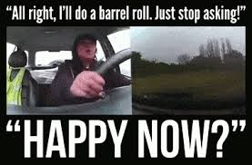 Do A Barrel Roll Meme - 11 times people shrugged in the face of disaster