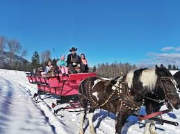 cozy up for a sleigh ride in idaho s winter visit idaho