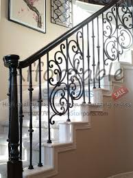 Installing Balusters And Handrails Tuscan Wrought Iron Panels Installation Staircase Stair