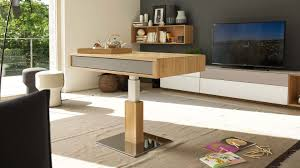 lift coffee table height adjustable and flexible team 7