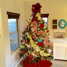 offray bow genius tree topper bow