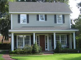 Exterior Color Schemes by House Trim Ideas Exterior On 691x406 Which The Exterior Color