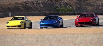 porsche 911 vs corvette corvette stingray vs f12 vs porsche 911 4s gm