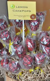 spiderman cake pops sweeterrific