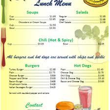 elegant two colored restaurant menu templates microsoft word