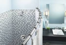Bathroom Shower Rod Vs Curved Shower Rods Rotator Rod