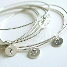 silver bangle bracelet with charms images Sterling silver bangle bracelets with charms best bracelets jpg