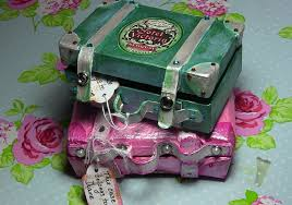 How To Decorate A Shoebox How To Make A Novelty Mini Vintage Suitcase Gift Box Part Two
