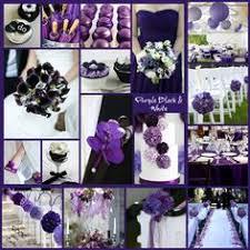 Purple And White Wedding Purple Black And White Wedding Backdrop Purple Uplighting Purple