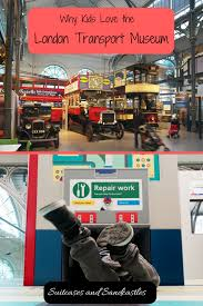 why kids love the london transport museum suitcases and sandcastles