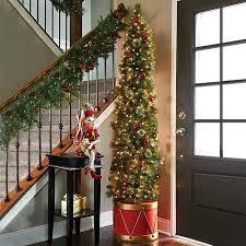 best 25 half tree ideas on winter porch