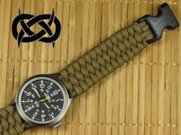 survival bracelet watches images Beginner paracord single strand trilobite buckle watchband jpg