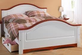 Schlafzimmer Betten Mit Schubladen Doppelbett Bett Mit Schubladen Kiefer Massiv Weiß Kirschbaum
