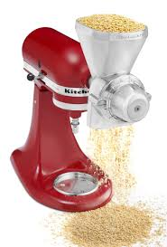 Kitchen Aid Grinder Attachment Kitchenaid Kgm Stand Mixer Grain Mill Attachment On Sale At