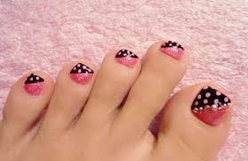 easy nail art for toes amazing toe nail art ideas coodots