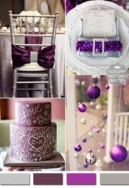 Purple And Silver Wedding 5 Amazing Metallic Wedding Color Ideas And Supplies