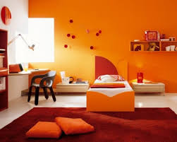 orange paint colors for living room burnt orange bedroom peach