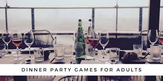 christmas day dinner table games 10 fun dinner party games for adults for a memorable night