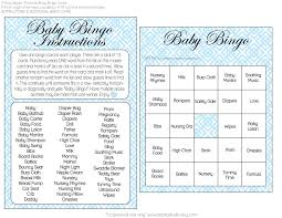 baby shower bingo free girl and boy baby shower bingo printables from a party
