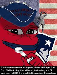 Superb Owl Meme - limited edition superb owl victory pepe super bowl li know your meme