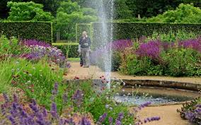 new look walled garden at scampston walled garden reopens