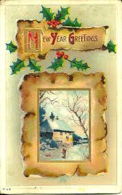 new year s postcards flashback fridays vintage new year s postcards miss