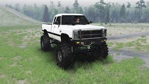 dodge mud truck dodge power ram 250 1991 for spin tires