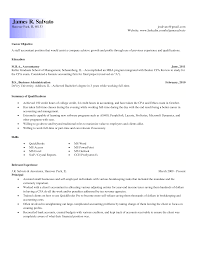 Good Resume Format For Experienced Accountant Senior Staff Accountant Resume Sample Resume For Your Job