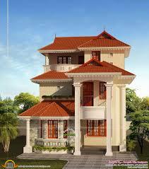 3 floor house plans kerala design homes