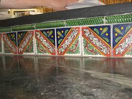 Wonderful Mexican Tile Backsplash  Cabinet Hardware Room Good - Mexican backsplash tiles