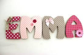 lettre decorative pour chambre bébé lettre decorative pour chambre bebe plaque de porte pracnom